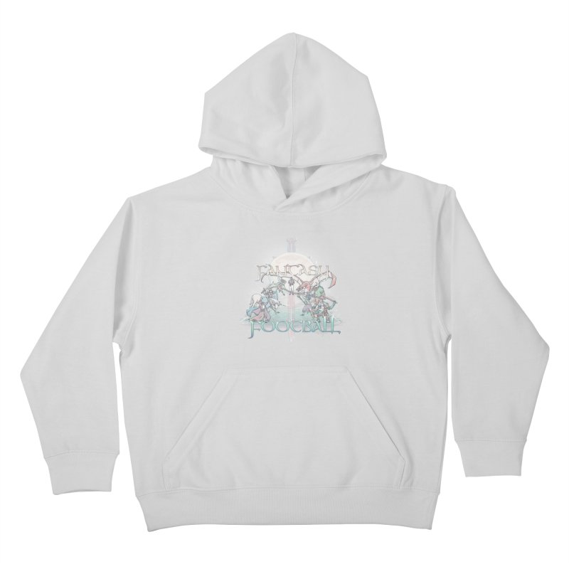 Fantasy Football Kids Pullover Hoody by Taylor Rose Makes Art