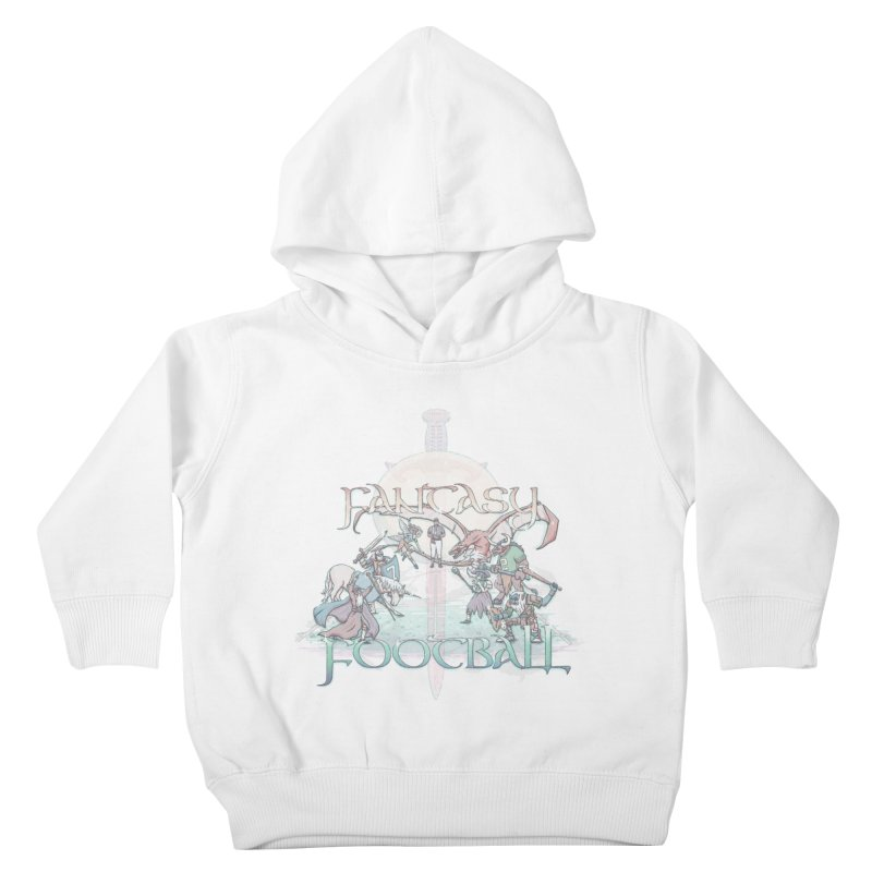 Fantasy Football Kids Toddler Pullover Hoody by Taylor Rose Makes Art