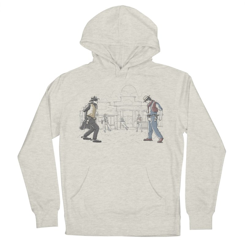 DC Showdown Men's Pullover Hoody by Taylor Rose Makes Art