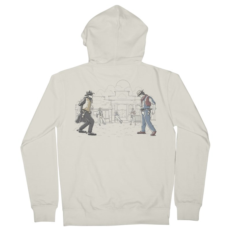 DC Showdown Women's Zip-Up Hoody by Taylor Rose Makes Art