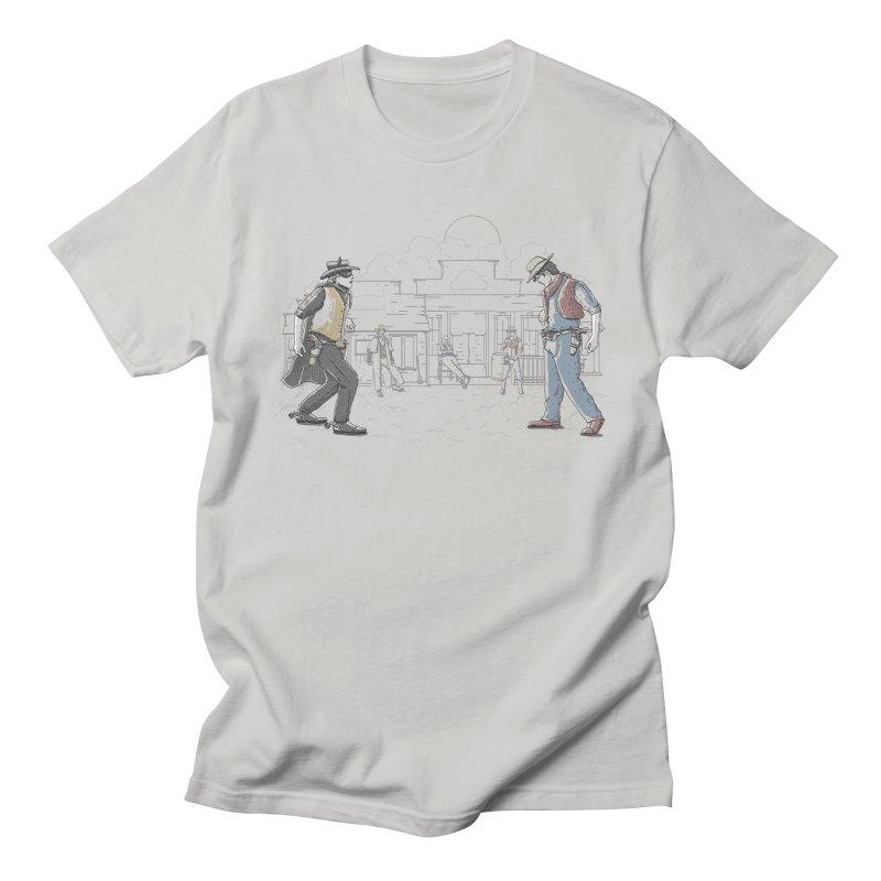 DC Showdown Men's T-Shirt by Taylor Rose Makes Art