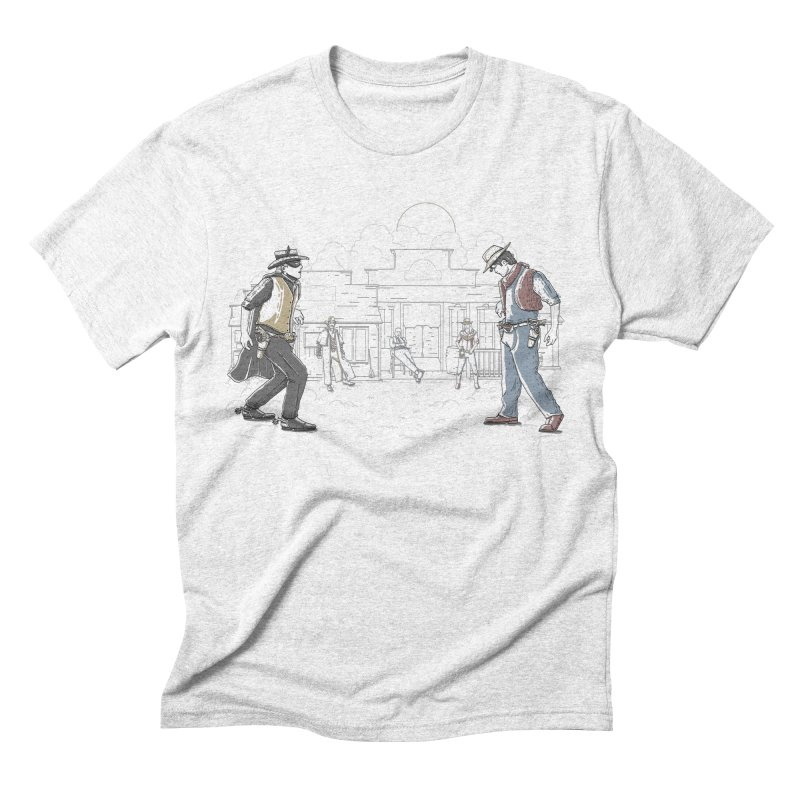 DC Showdown Men's Triblend T-shirt by Taylor Rose Makes Art
