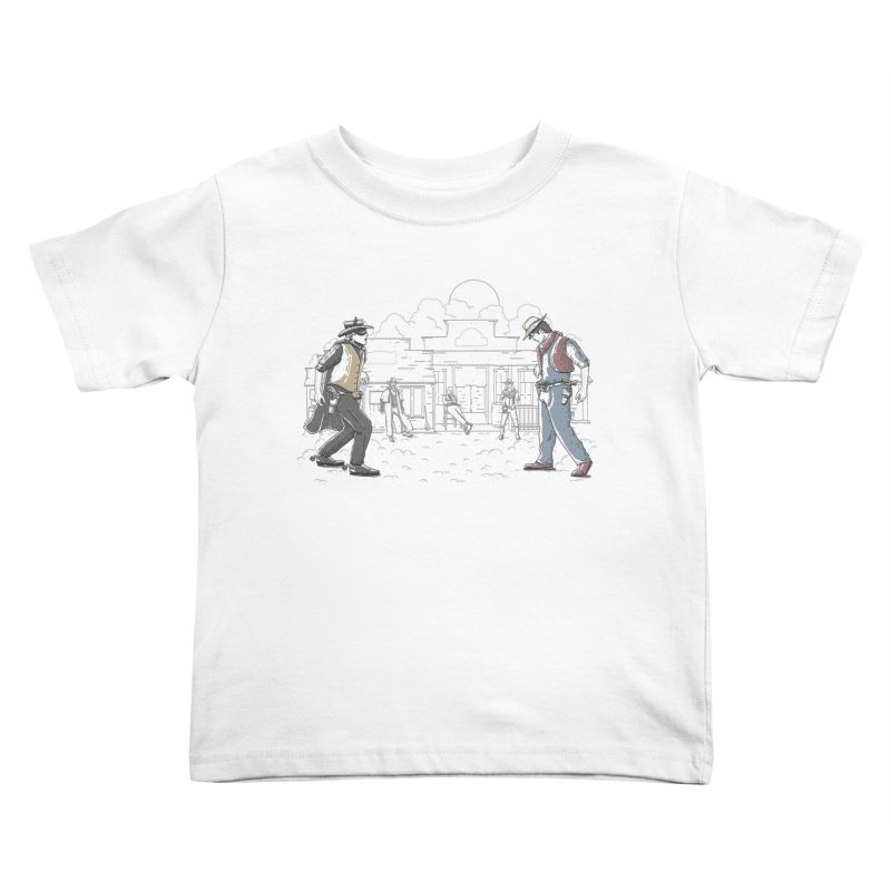 DC Showdown Kids Toddler T-Shirt by Taylor Rose Makes Art
