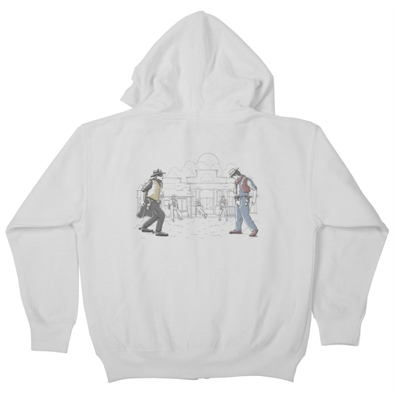 DC Showdown Kids Zip-Up Hoody by Taylor Rose Makes Art