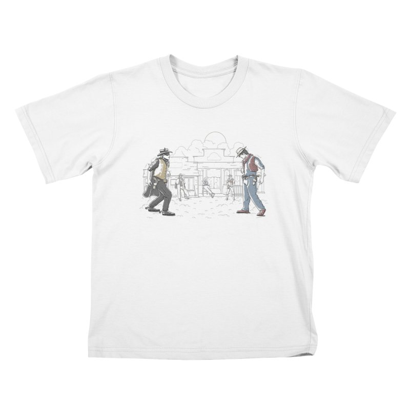 DC Showdown Kids T-shirt by Taylor Rose Makes Art