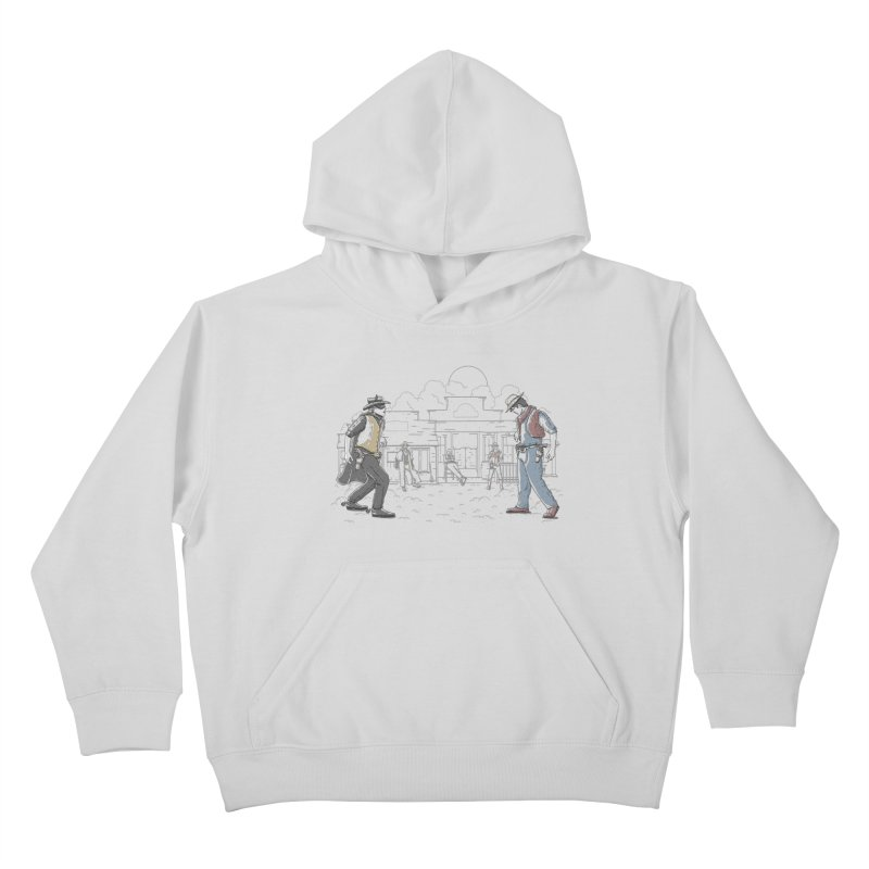 DC Showdown Kids Pullover Hoody by Taylor Rose Makes Art