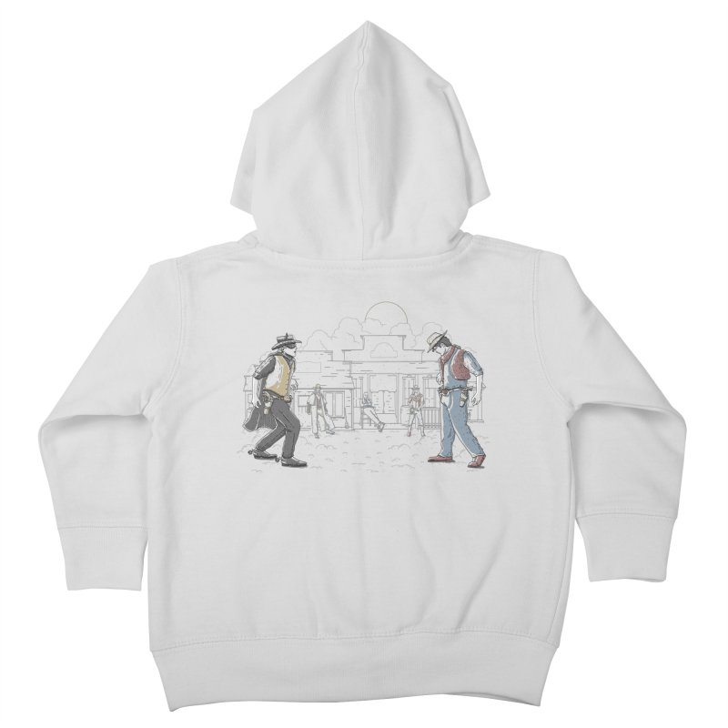 DC Showdown Kids Toddler Zip-Up Hoody by Taylor Rose Makes Art
