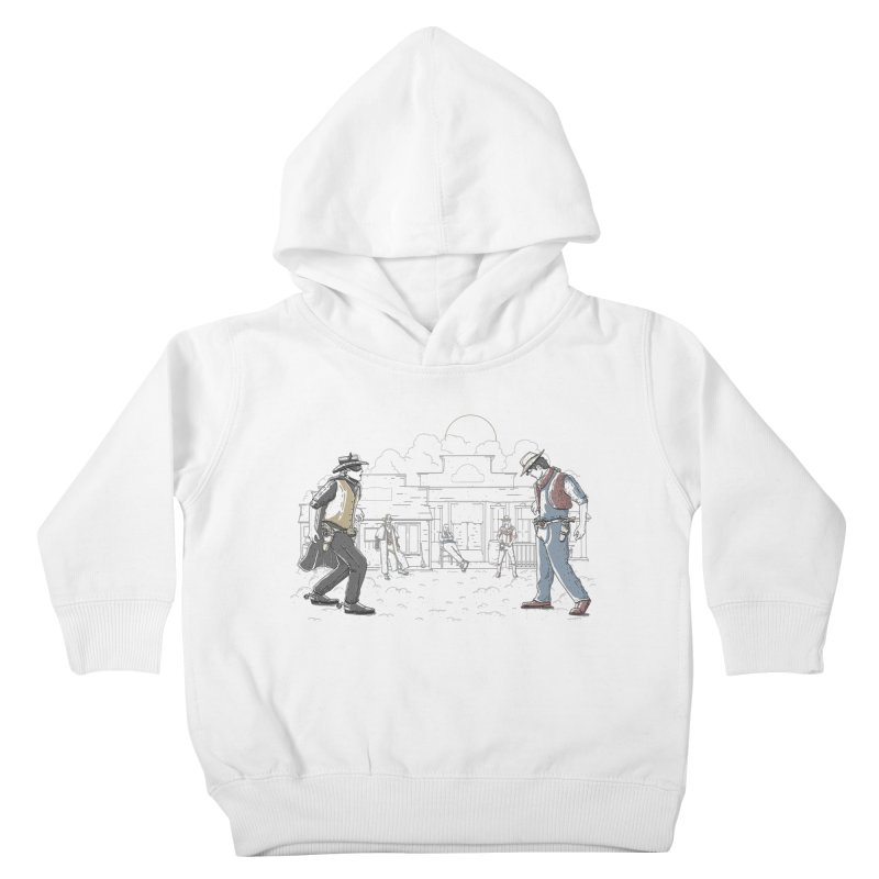 DC Showdown Kids Toddler Pullover Hoody by Taylor Rose Makes Art