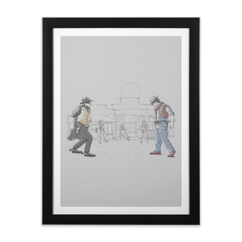 DC Showdown Home Framed Fine Art Print by Taylor Rose Makes Art