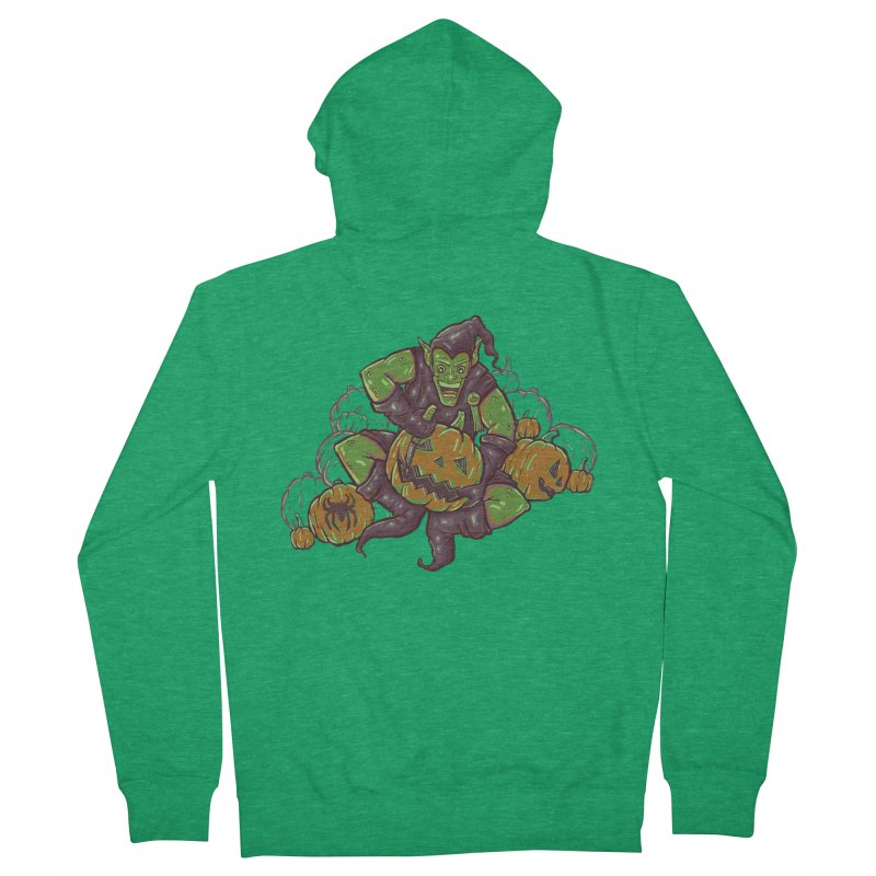 Green's Halloween Women's Zip-Up Hoody by Taylor Rose Makes Art
