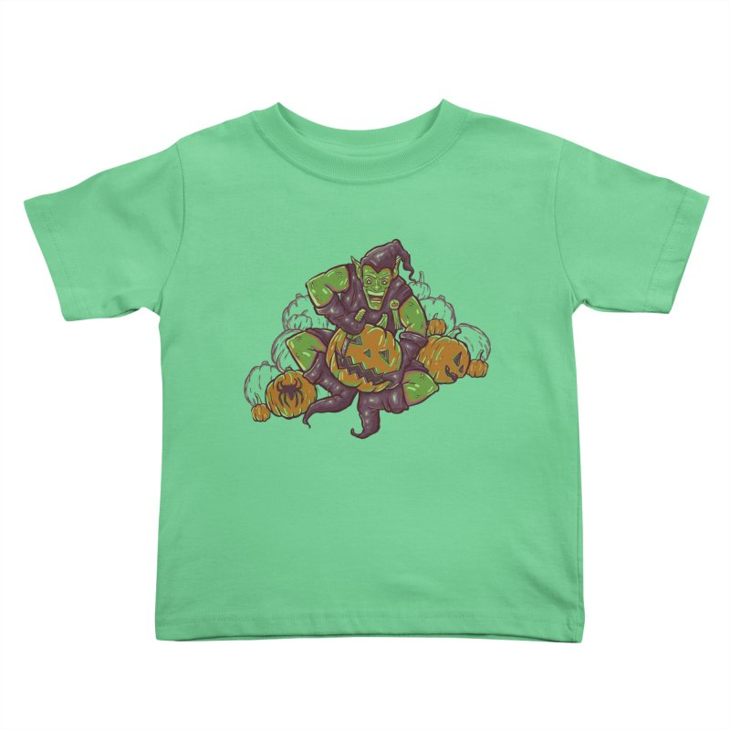 Green's Halloween Kids Toddler T-Shirt by Taylor Rose Makes Art