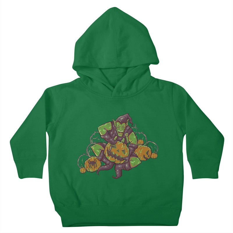 Green's Halloween Kids Toddler Pullover Hoody by Taylor Rose Makes Art