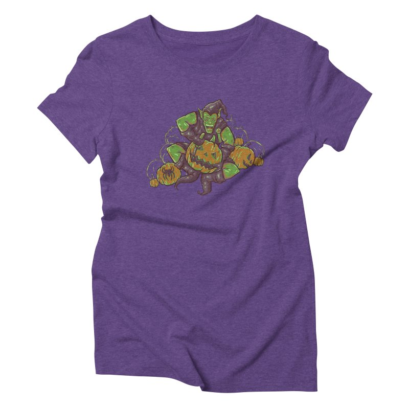 Green's Halloween Women's Triblend T-shirt by Taylor Rose Makes Art