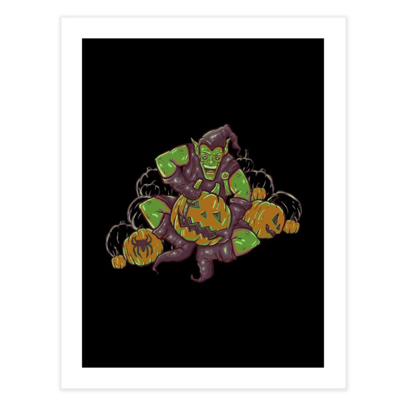 Green's Halloween Home Fine Art Print by Taylor Rose Makes Art