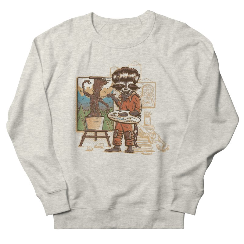 Happy Little Groots Men's Sweatshirt by Taylor Rose Makes Art