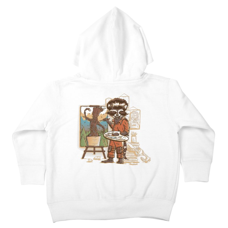 Happy Little Groots Kids Toddler Zip-Up Hoody by Taylor Rose Makes Art