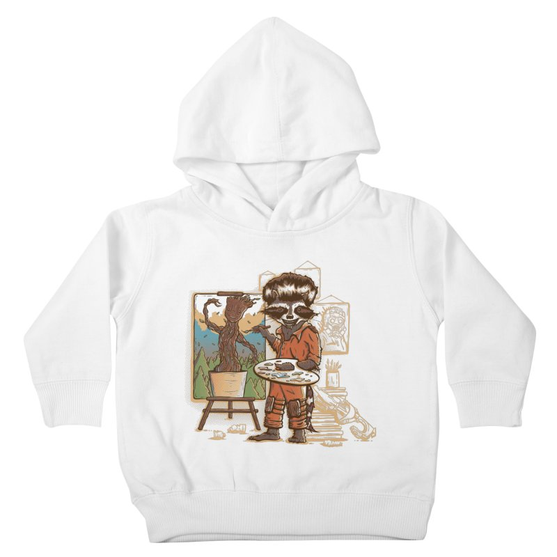Happy Little Groots Kids Toddler Pullover Hoody by Taylor Rose Makes Art