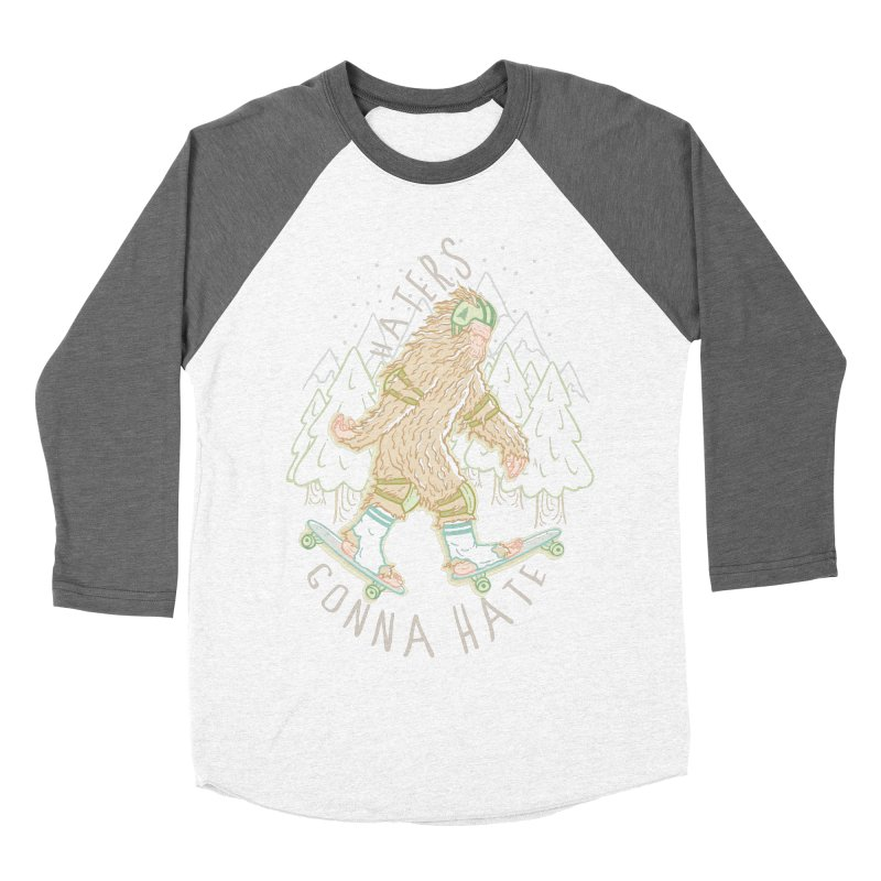 Haters Gonna Hate Men's Baseball Triblend T-Shirt by Taylor Rose Makes Art