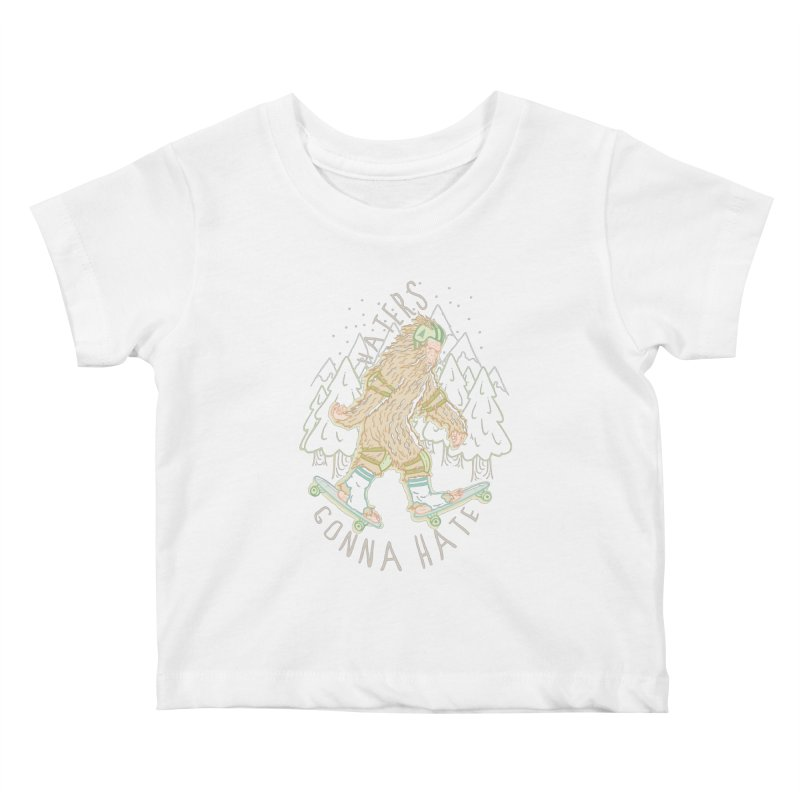 Haters Gonna Hate Kids Baby T-Shirt by Taylor Rose Makes Art
