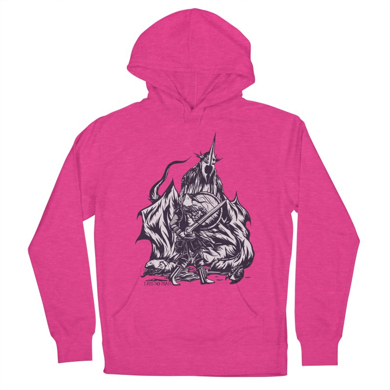 I Am No Man Women's Pullover Hoody by Taylor Rose Makes Art