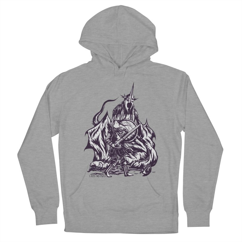 I Am No Man Men's Pullover Hoody by Taylor Rose Makes Art