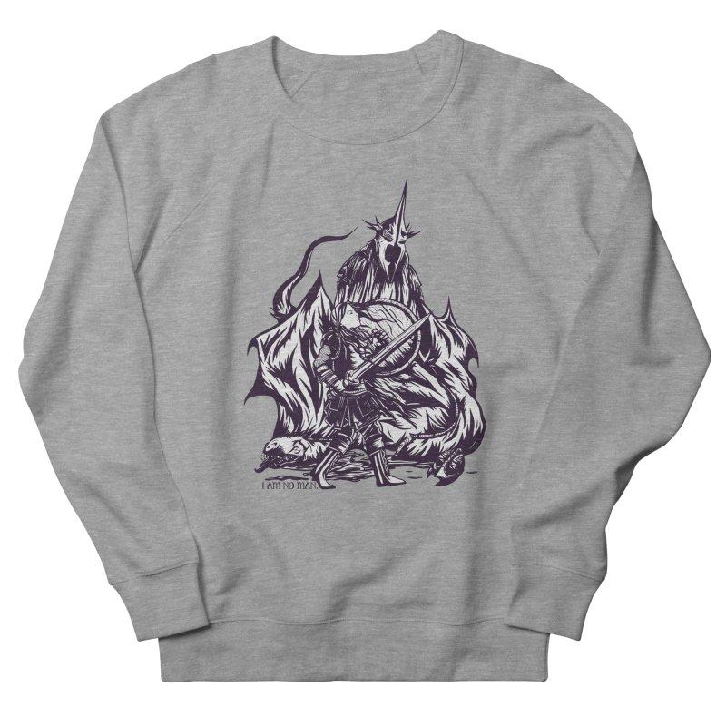 I Am No Man Women's Sweatshirt by Taylor Rose Makes Art