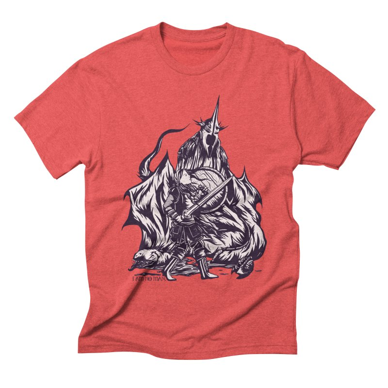 I Am No Man Men's Triblend T-shirt by Taylor Rose Makes Art