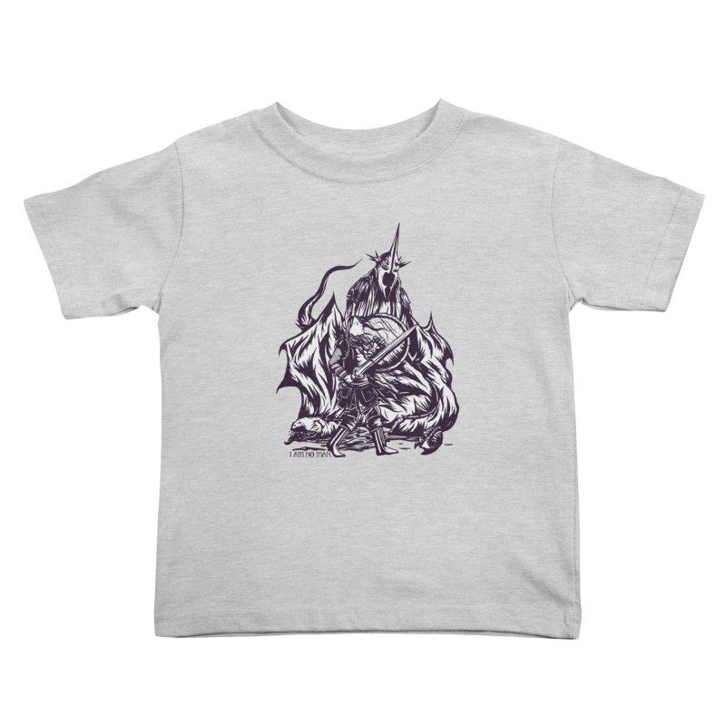 I Am No Man Kids Toddler T-Shirt by Taylor Rose Makes Art