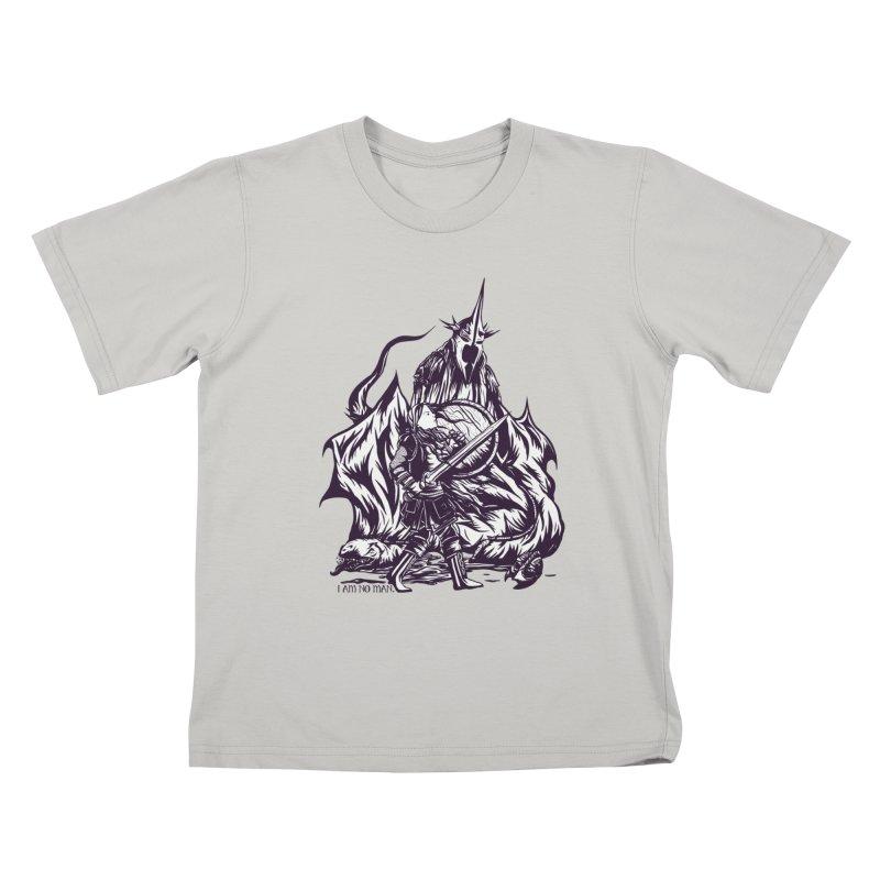 I Am No Man Kids T-Shirt by Taylor Rose Makes Art