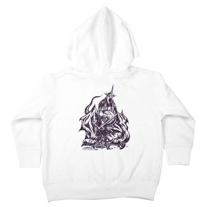I Am No Man Kids Toddler Zip-Up Hoody by Taylor Rose Makes Art