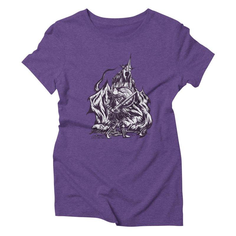 I Am No Man Women's Triblend T-Shirt by Taylor Rose Makes Art
