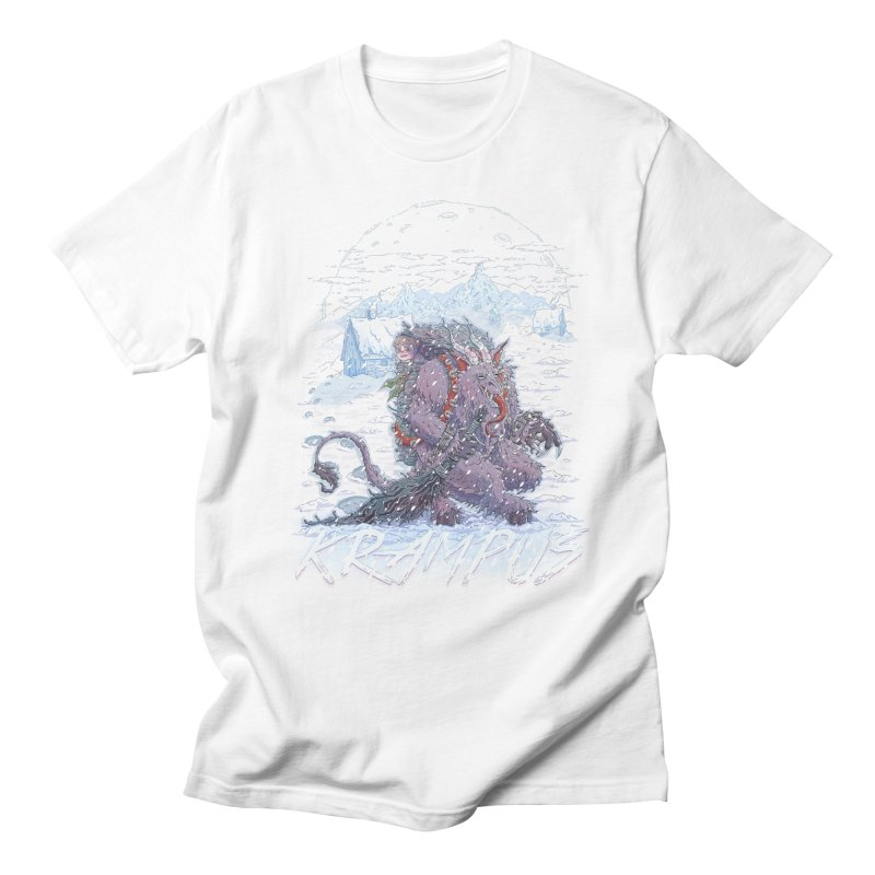 Krampus Men's T-shirt by Taylor Rose Makes Art