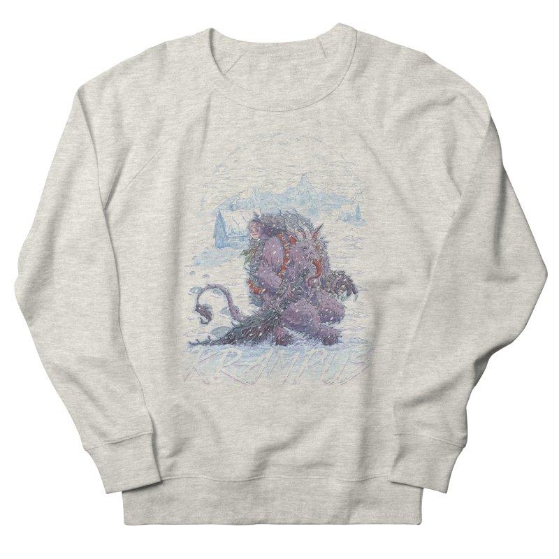 Krampus Men's Sweatshirt by Taylor Rose Makes Art