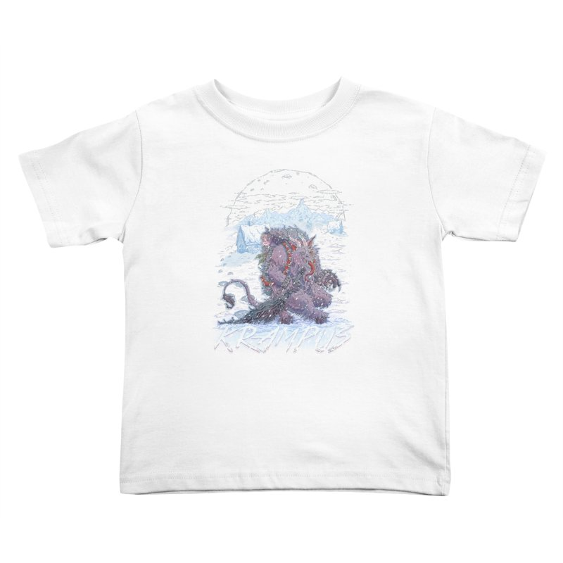 Krampus Kids Toddler T-Shirt by Taylor Rose Makes Art