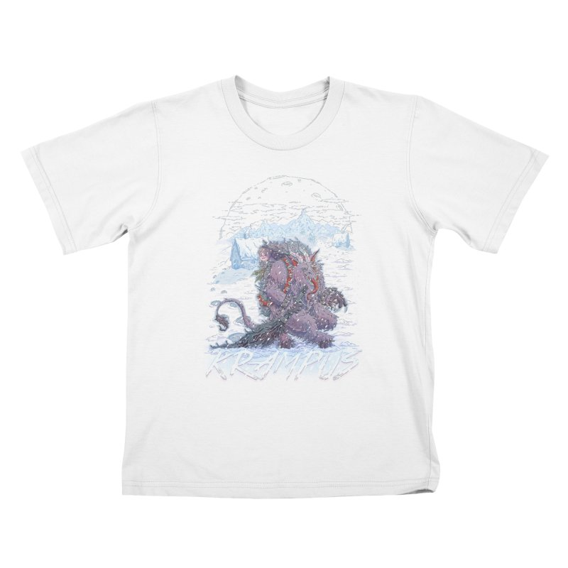 Krampus Kids T-shirt by Taylor Rose Makes Art