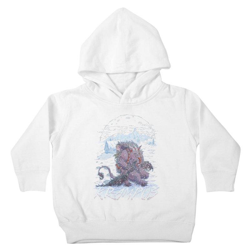 Krampus Kids Toddler Pullover Hoody by Taylor Rose Makes Art