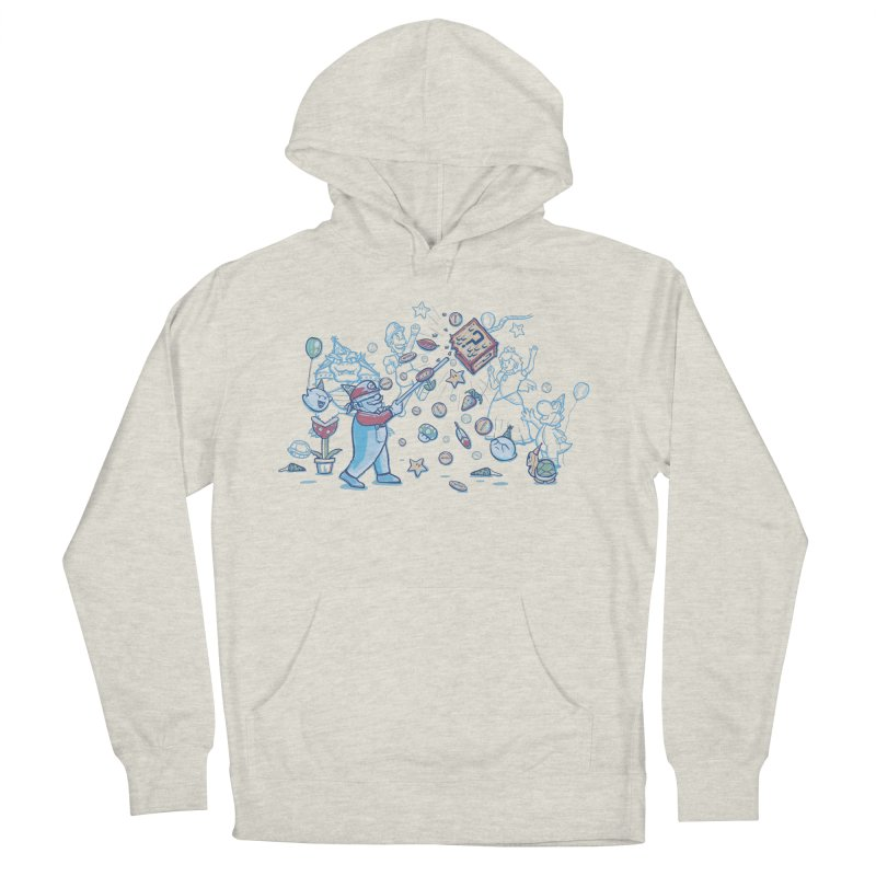 Mario Party Men's Pullover Hoody by Taylor Rose Makes Art