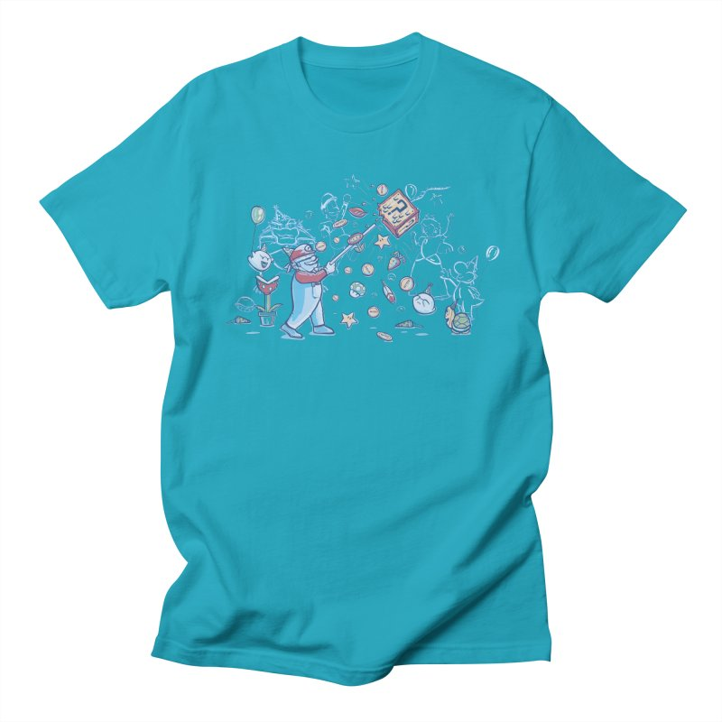 Mario Party Men's T-shirt by Taylor Rose Makes Art