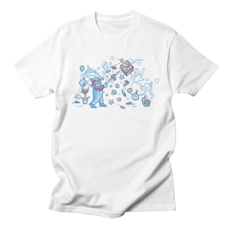 Mario Party Men's T-Shirt by Taylor Rose Makes Art
