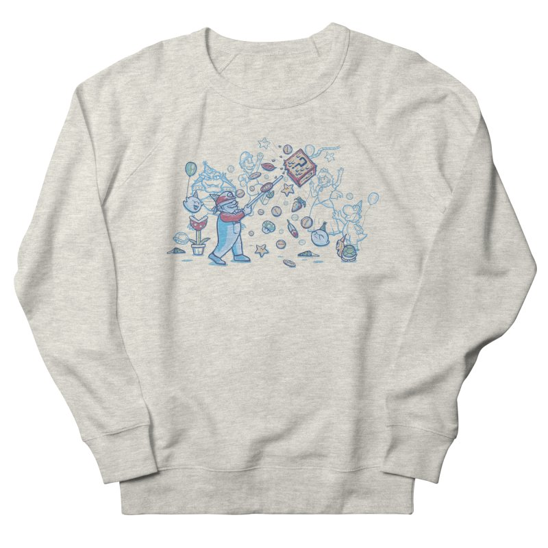 Mario Party Women's Sweatshirt by Taylor Rose Makes Art