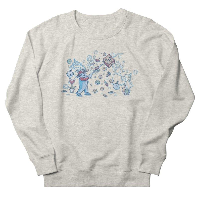Mario Party Men's Sweatshirt by Taylor Rose Makes Art