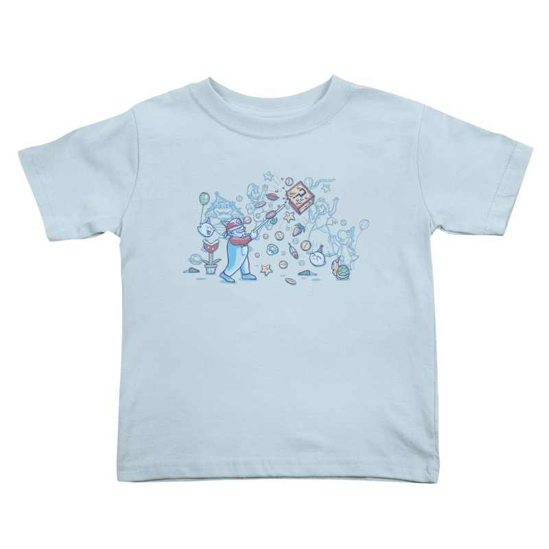 Mario Party Kids Toddler T-Shirt by Taylor Rose Makes Art