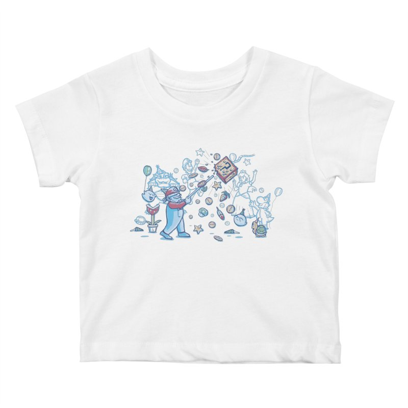Mario Party Kids Baby T-Shirt by Taylor Rose Makes Art