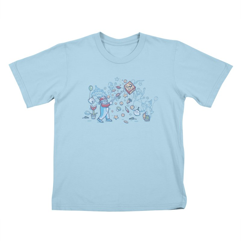 Mario Party Kids T-shirt by Taylor Rose Makes Art
