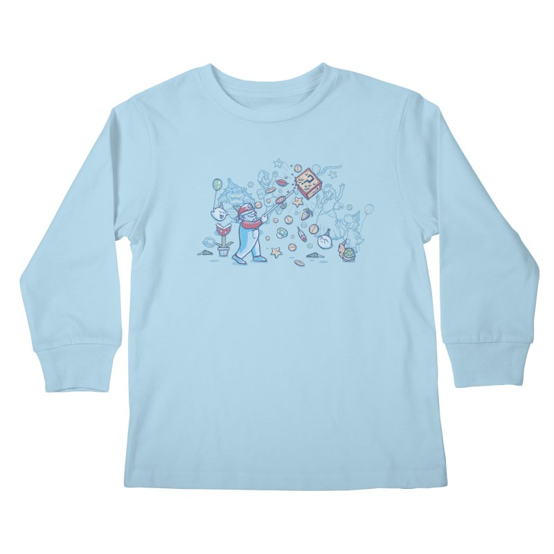 Mario Party Kids Longsleeve T-Shirt by Taylor Rose Makes Art