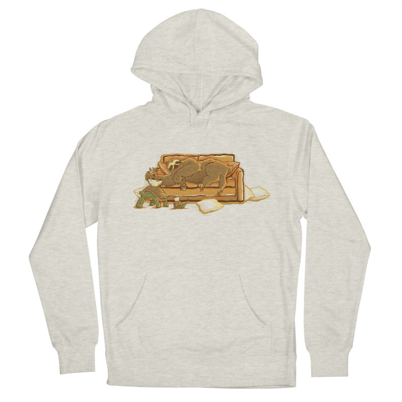 Slow Party Men's Pullover Hoody by Taylor Rose Makes Art