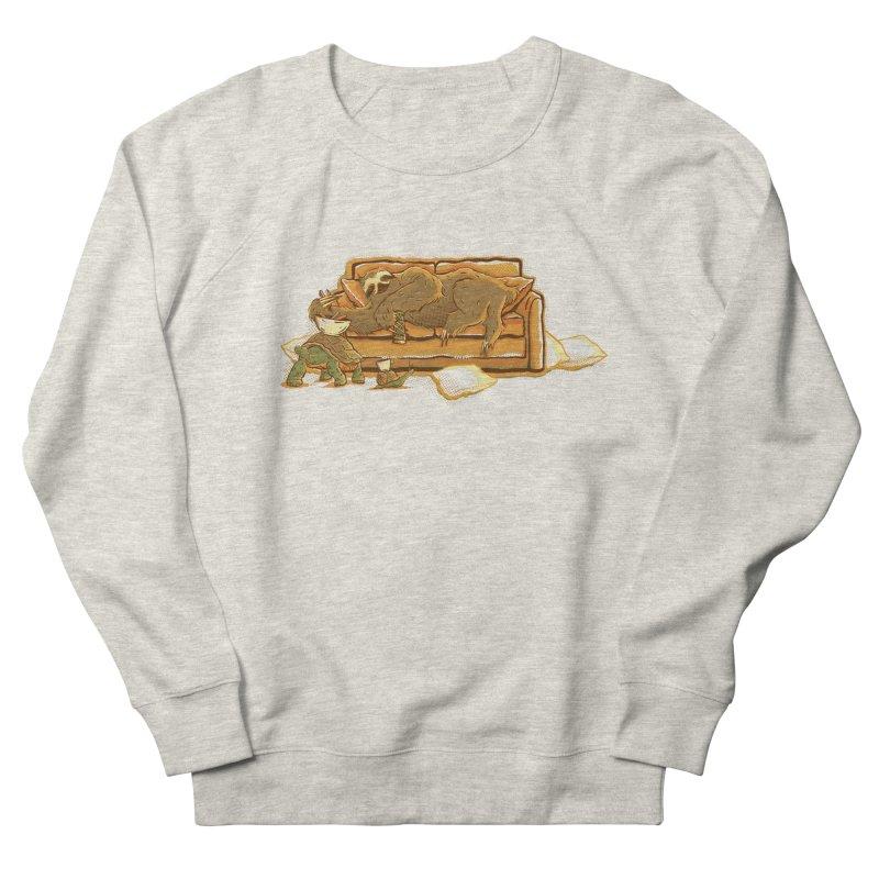 Slow Party Men's Sweatshirt by Taylor Rose Makes Art