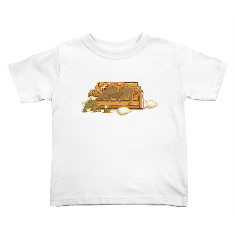 Slow Party Kids Toddler T-Shirt by Taylor Rose Makes Art