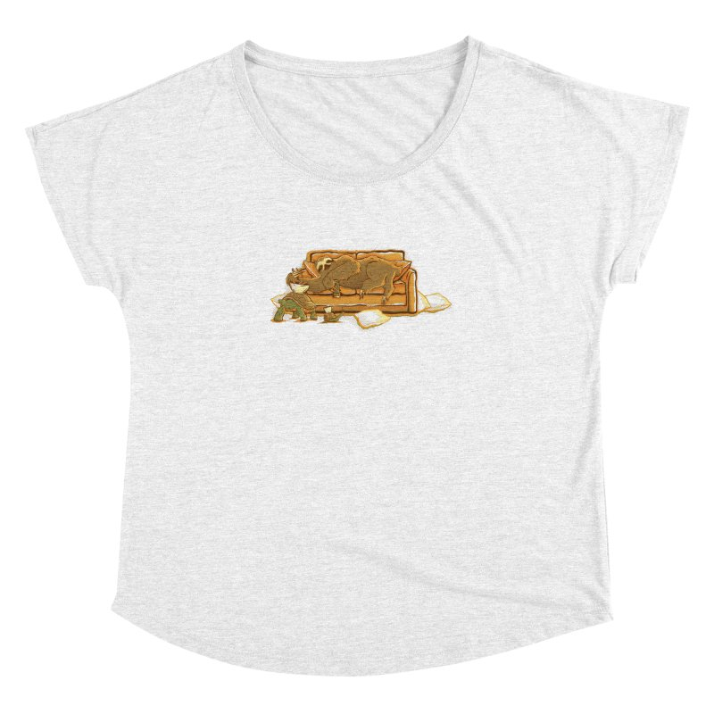 Slow Party Women's Dolman by Taylor Rose Makes Art