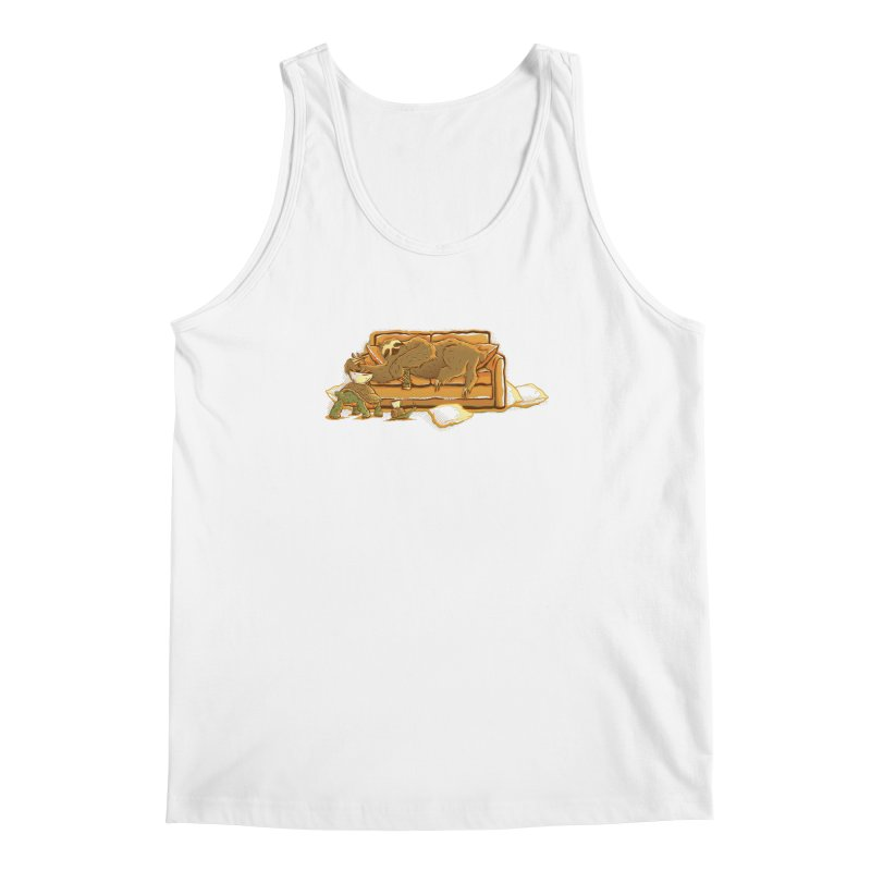 Slow Party Men's Tank by Taylor Rose Makes Art